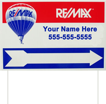 "Yard Sign ""Remax, Brian Stephen"" by Serigraphic Screen Print"